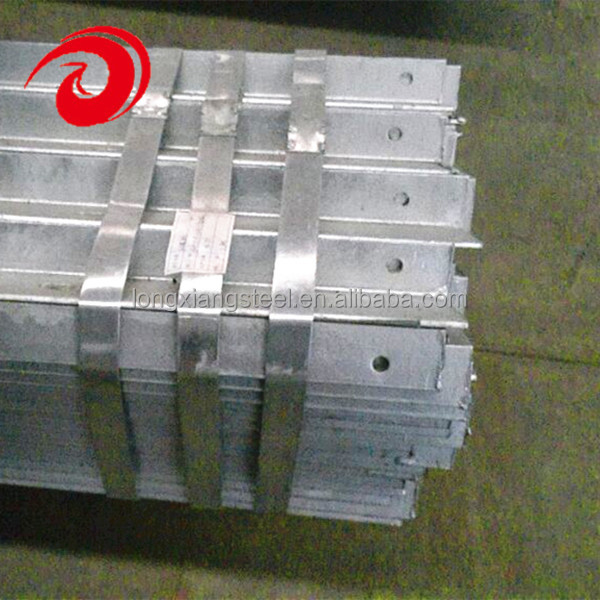 Galvanized Steel Angle Iron with Holes