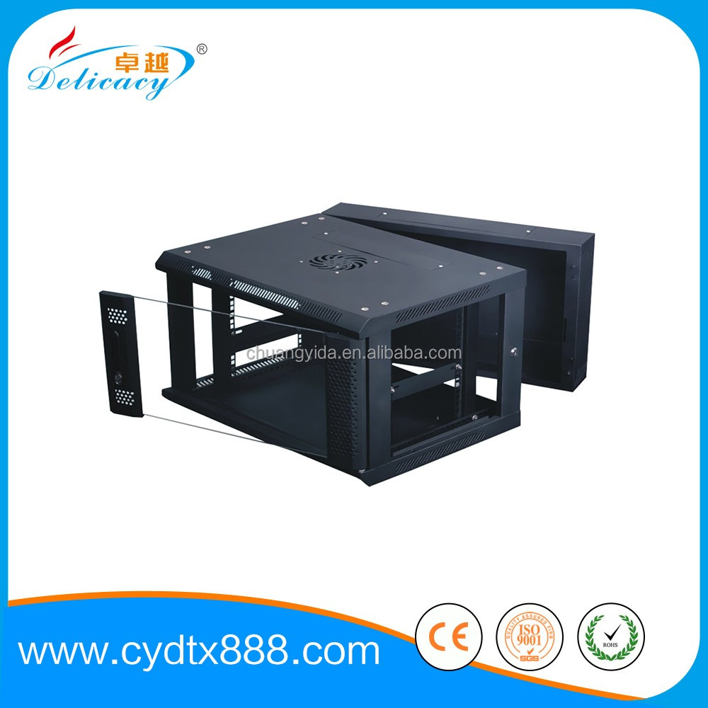 Wall mounted network server rack 4u cabinet