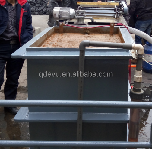 smart mini movable electrocoagulation wastewater treatment plant for textile sewage disposal