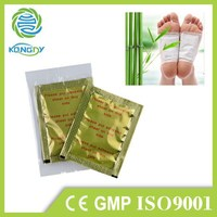 Factory supplier wood vinegar improve sleep quality detox foot patch