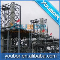 100tons/day used oil recycling machine with diesel distillation