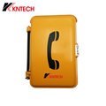 Waterproof IP66 Industrial Auto-dial Telephone KNSP-03 Emergency Analog Telephone without Keypad