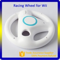 Colorful Racing Cars Steering Wheel for Wii Game Console