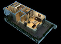 Hight Quality Prefab Living Container House From ZTD Company