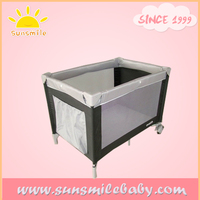 Fast delivery travel cot, basic baby playard,factory since 1999 supply baby playpen