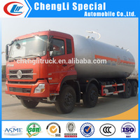 Hot Sale 8x4 DongFeng Brand 35CBM LPG Tanker Dilivery Truck 35000liters/35000L lpg truck for sale