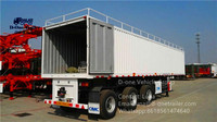 sell first Chinese best sales Van trailer series/Box style series/Van coursed wagon series export trailer your best choice