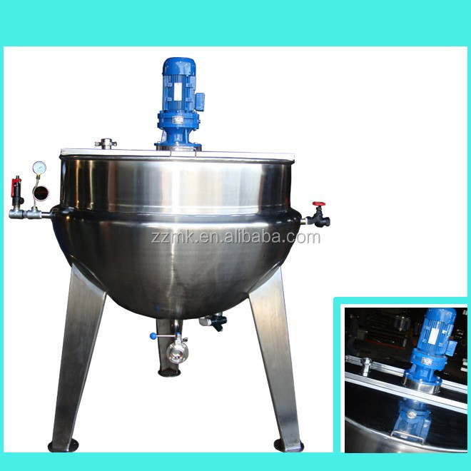 Competitive price good appearance industrial cooking pot 500L