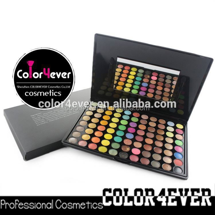 Hot selling 88 colors branded eyeshadow shimmer Make up eyeshadow Palettes big eye shadow kit