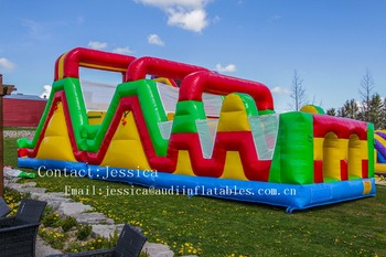 inflatable Rainbow Fun Obstacle for sale