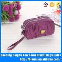 Wholesales online high quality washer wrinkle fabric women small handbag and purse bag