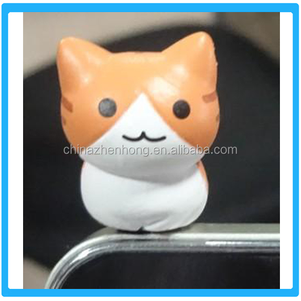 Wholesale Earphone Jack Cheap Cell Phone Accessories Smart Cute Anti Dust Plug