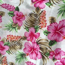 2015 fashion printed cotton fabric, beautiful flower designs fabric painting
