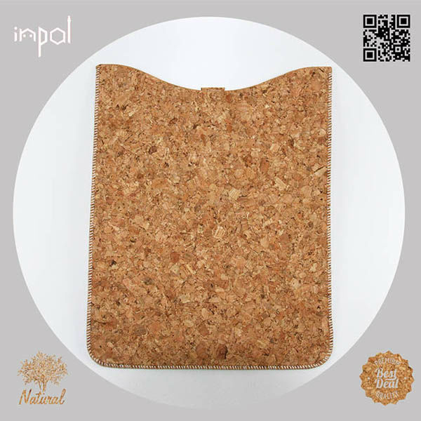 Design your own stylish pad case for apple ipad mini with ultra plush touchable soft lining and natural colour cork fabric