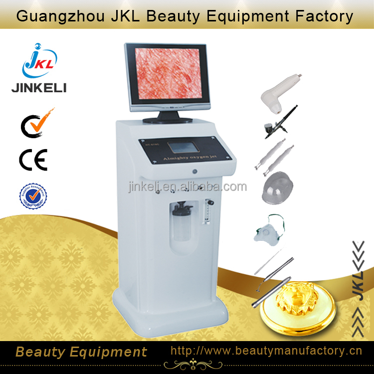 jet peel water oxygen skin rejuvenation machine