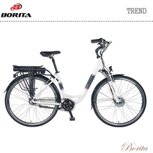 Borita Trend 700C Front Drive Motor Suspension Fork Electric Bike