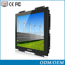 Best price of 15 inch LED open frame touch monitor, with lcd monitor vga board
