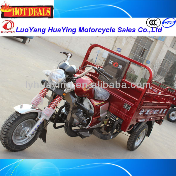 HY200ZH-ZHY Cargo Three Wheel Motorcycle Heavy Loading Electric Trike Efficient Tricycle for Sell