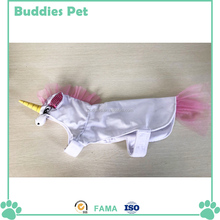 Hooded Unicorn Image With Horn Pet Costume