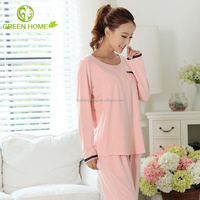 OEM&ODM maternity clothes fashion design long sleeve night suit AK159