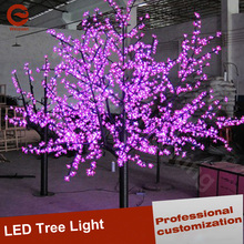 Pink LED Tree light Decoration Cherry Blossom lighting up