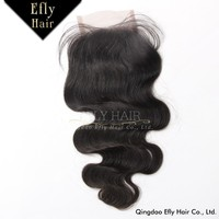 Wholesale cheap virgin hair closure, 100% unprocessed light brown lace closure