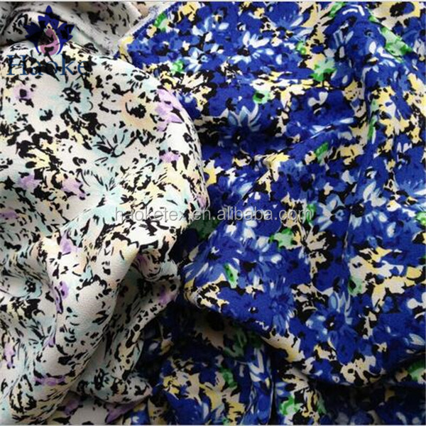 printed dubai fabric / dubai chiffon fabric / abaya dress fabric
