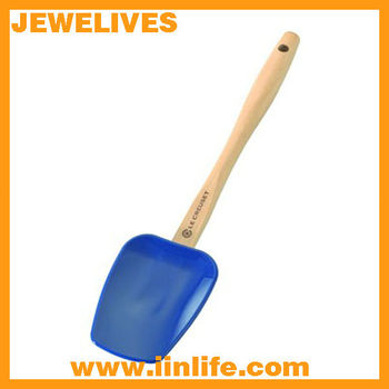 eco-friendly silicone wood handle turner