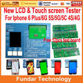 8 in1 LCD display & Digitizer Touch screen panel Tester test board for iphone 4 4S 5 5S 5C,Top version
