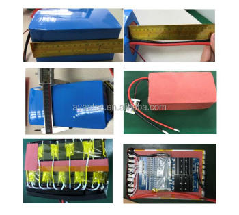Hot sale 36V 10AH lithium battery pack for E-bike with BMS /PCM