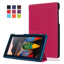 "For Lenovo Tab3 7 Essential 710F Tab 3 7.0"" Tablet PC Customized Luxury PU Leather Case Back Skin Cover"
