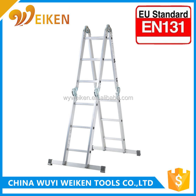 GS/EN131 Car wash aluminium folding work platform