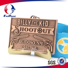 Retro Billy the Kid Shoot Out Medal