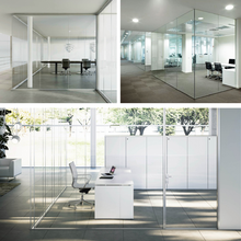 Aluminum Glass Partitions Walls for Office Hotel