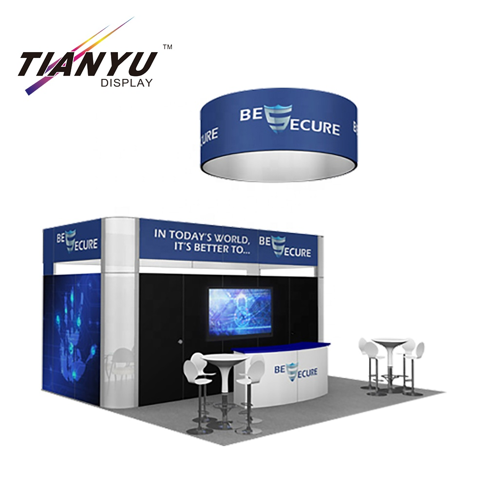 Portable Reusable customized Trade <strong>Show</strong> Use Modular Movable Aluminum Exibition booth