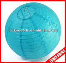 new arrival blue chinese craft paper lantern