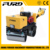 0.8ton Double Drum Hydraulic Drive Manual Vibration Road Roller (FYL-800)