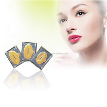 Pure gold collagen crystal lip mask for women beauty lip