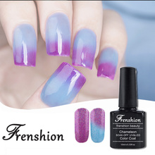 Frenshion Wholesale Mood Nail Polish Free Samples 2017 Korean Nail Polish Temperature Color Changing Uv Gel Nail Polish
