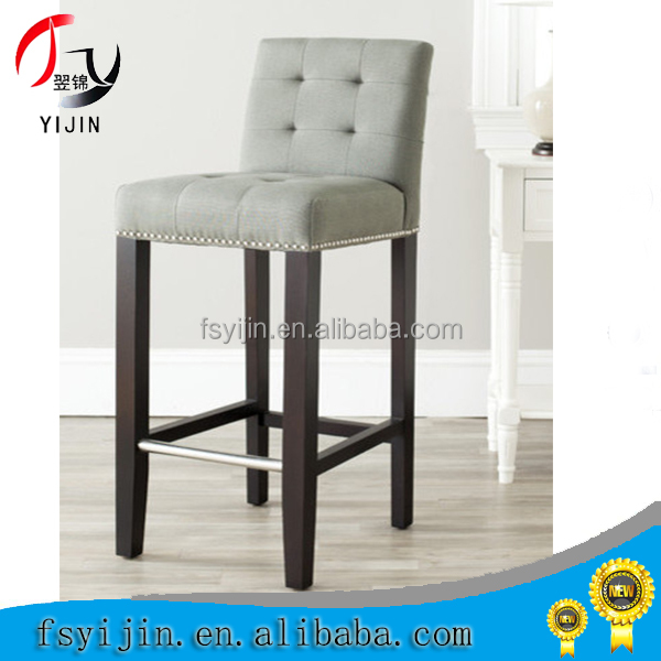 High Quality Cheap metal bar stool/chair cover wood grain For Sale