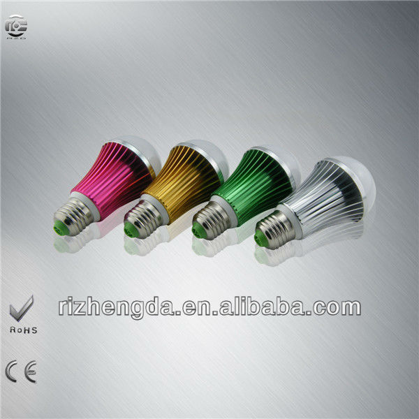 colorful light/acoustic control lamp 3w 220v