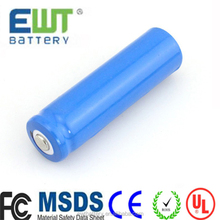 EWT li ion battery 3.7v 1000mah ICR 14650 li-ion rechargeable lithium ion battery