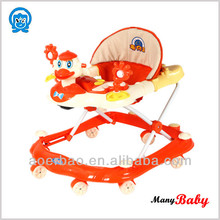 2015 Best quality human design plastic toy/ baby favoriate swing/rocking Baby Walker supplier