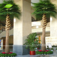 GNW APM026 palm tree in artificial trees 12ft tall for home decor on sale