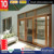 America design sound proof and weather proof double glass aluminium alloy sliding doors
