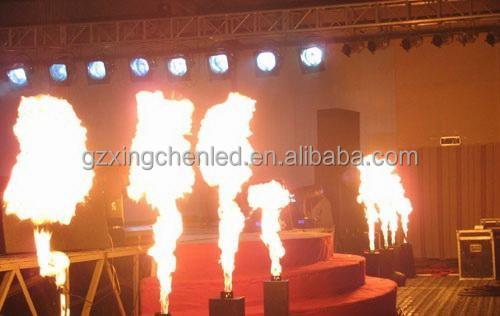 DJ stage lighting outdoor flame machine fire machine