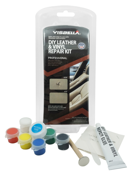 Visbella leather repair kit adhesive
