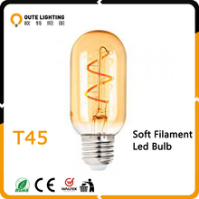 China led light production line spiral filament led bulb B22 E27 scoket light