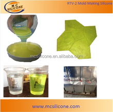 Concrete Stamp Mold Making RTV Liquid Urethane Rubber
