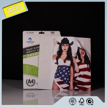Yesion 2018 Premium sticky back printing photo paper / Self adhesive Photo Paper Water Based Inkjet
